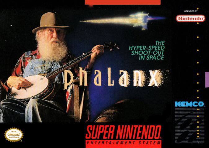 Carátula del juego Phalanx (Snes)