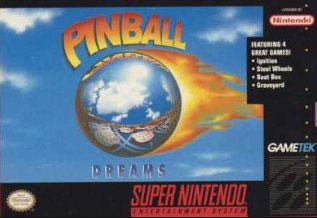 Portada de la descarga de Pinball Dreams