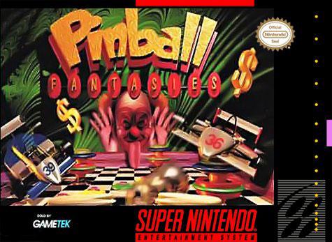 Carátula del juego Pinball Fantasies (Snes)