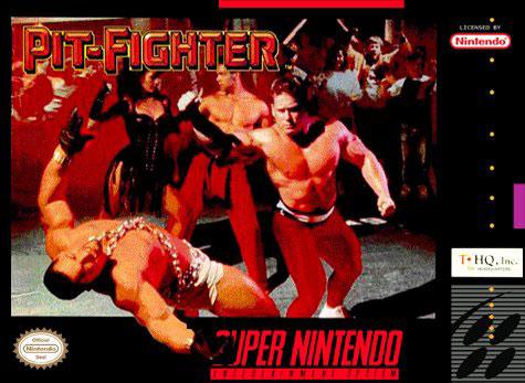Carátula del juego Pit-Fighter (Snes)
