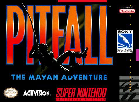 Carátula del juego Pitfall - The Mayan Adventure (Snes)