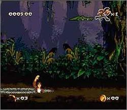 Pantallazo del juego online Pitfall - The Mayan Adventure (Snes)