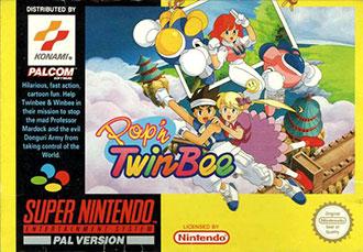 Juego online Pop 'n' Twinbee (SNES)