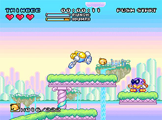 Imagen de la descarga de Pop'n TwinBee: Rainbow Bell Adventures