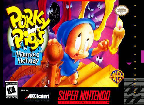 Carátula del juego Porky Pig's Haunted Holiday (Snes)