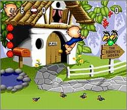 Pantallazo del juego online Porky Pig's Haunted Holiday (Snes)
