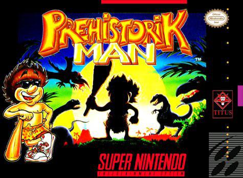 Portada de la descarga de Prehistorik Man