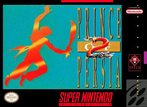 Carátula del juego Prince of Persia 2 (Snes)