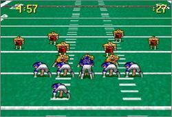 Pantallazo del juego online Pro Quarterback (Snes)