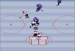 Pantallazo del juego online Pro Sport Hockey (Snes)