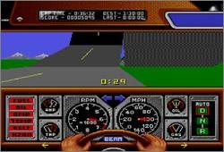 Pantallazo del juego online Race Drivin' (Snes)