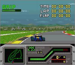 Pantallazo del juego online Redline F1 Racer (Snes)
