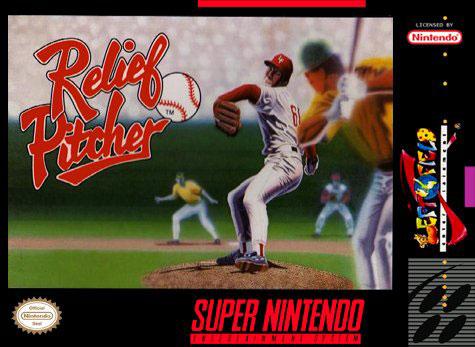 Carátula del juego Relief Pitcher (Snes)
