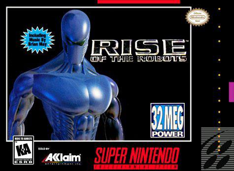 Carátula del juego Rise of the Robots (Snes)