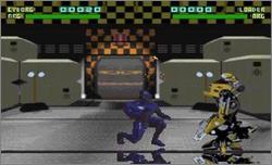 Pantallazo del juego online Rise of the Robots (Snes)