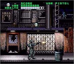 Pantallazo del juego online RoboCop vs The Terminator (Snes)