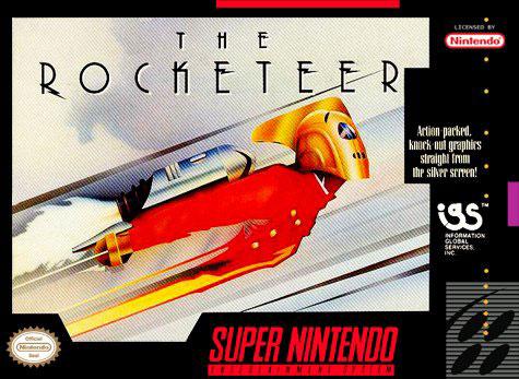 Carátula del juego The Rocketeer (Snes)