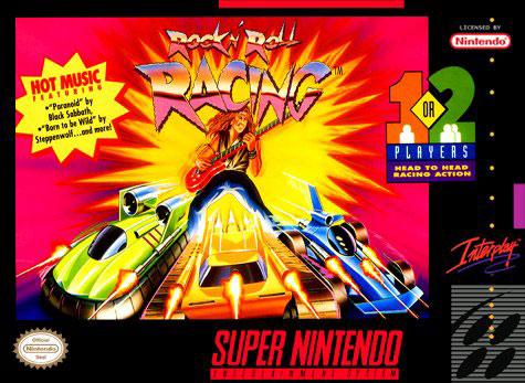 Carátula del juego Rock 'n Roll Racing (Snes)