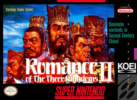 Carátula del juego Romance of the Three Kingdoms II (Snes)