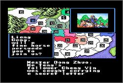 Pantallazo del juego online Romance of the Three Kingdoms II (Snes)