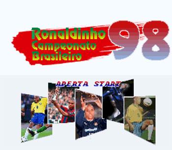 Carátula del juego Ronaldinho Campeonato Brasileiro 98 (Snes)