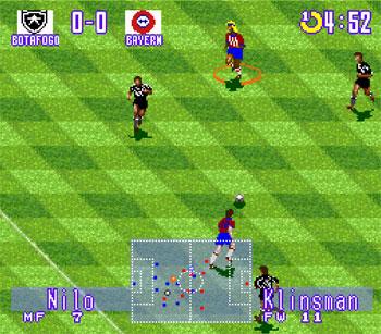 Pantallazo del juego online Ronaldinho Campeonato Brasileiro 98 (Snes)