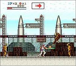 Pantallazo del juego online Run Saber (Snes)
