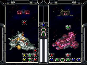 Pantallazo del juego online SD Gundam Power Formation Puzzle (SNES)