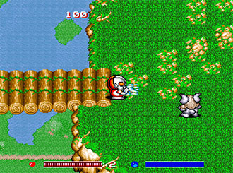 Pantallazo del juego online SD The Great Battle (SNES)
