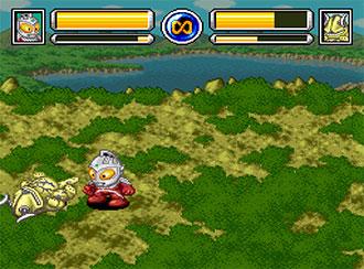 Pantallazo del juego online SD Ultra Battle Seven Densetsu (SNES)