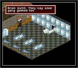 Pantallazo del juego online Shadowrun (Snes)