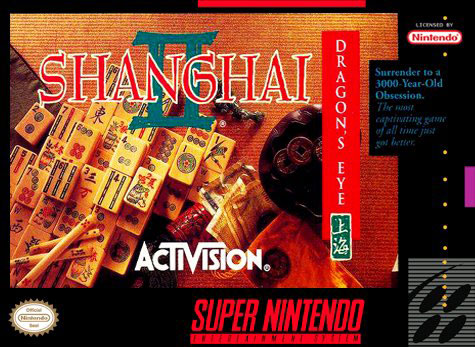 Carátula del juego Shanghai II Dragon's Eye (Snes)