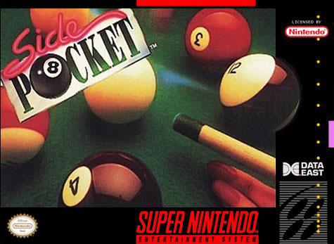 Carátula del juego Side Pocket (Snes)