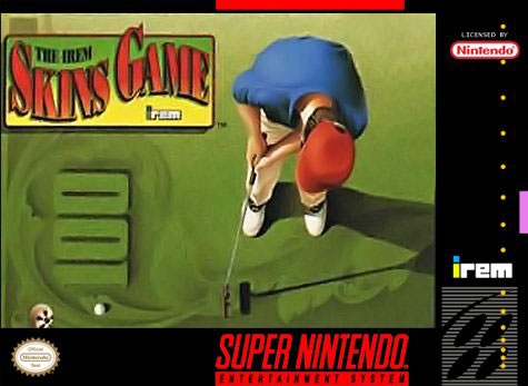 Carátula del juego The Irem Skins Game (Snes)
