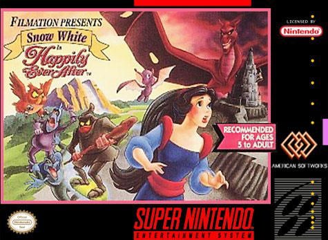 Carátula del juego Snow White in Happily Ever After (Snes)
