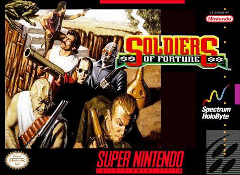 Carátula del juego Soldiers of Fortune (Snes)