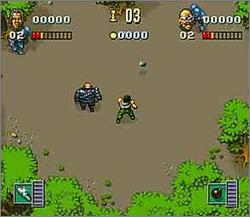 Pantallazo del juego online Soldiers of Fortune (Snes)