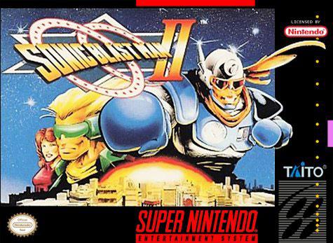 Portada de la descarga de Sonic Blast Man II