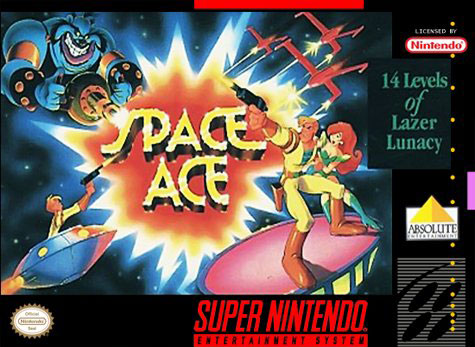 Portada de la descarga de Space Ace