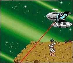 Pantallazo del juego online Space Ace (Snes)