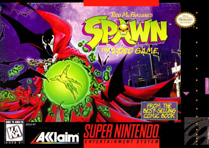 Portada de la descarga de Spawn