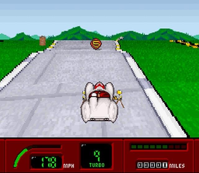 Pantallazo del juego online Speed Racer (Snes)