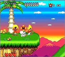 Pantallazo del juego online Speedy Gonzales Los Gatos Bandidos (Snes)