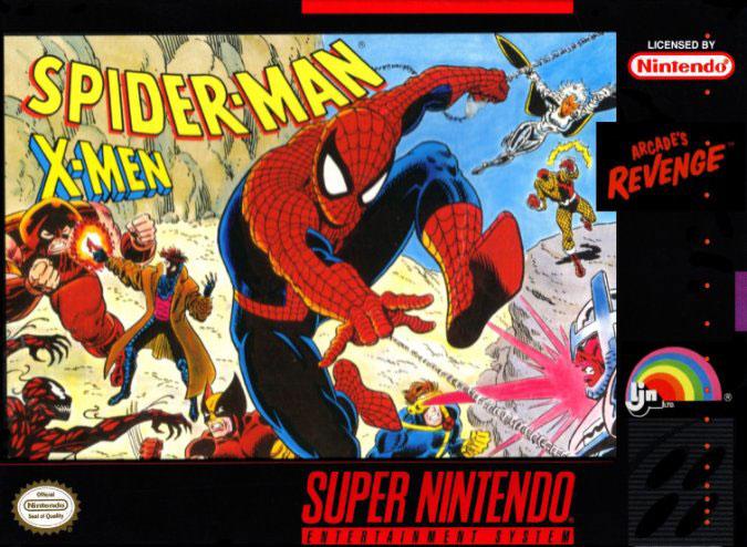 Carátula del juego Spider-Man - X-Men Arcade's Revenge