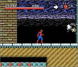 Pantallazo del juego online Spider-Man - X-Men Arcade's Revenge