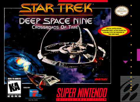 Portada de la descarga de Star Trek: Deep Space Nine — Crossroads of Time