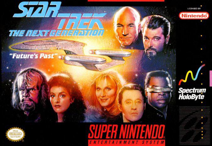 Portada de la descarga de Star Trek: The Next Generation — Future's Past