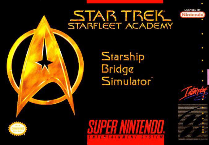 Carátula del juego Star Trek Starfleet Academy (Snes)