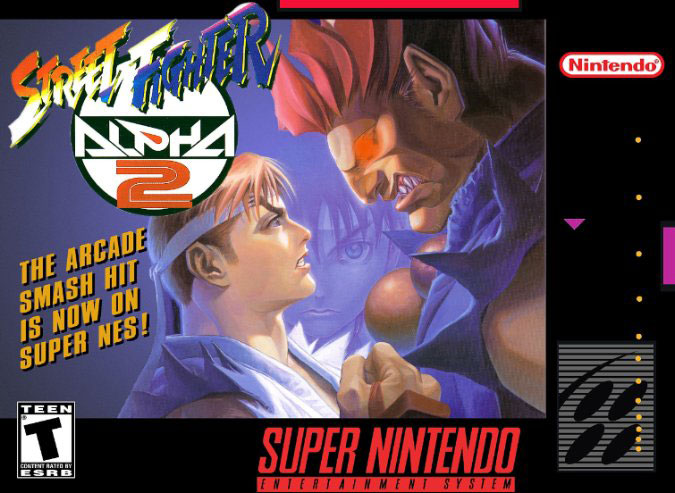 Portada de la descarga de Street Fighter Alpha 2