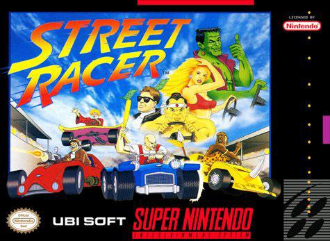 Carátula del juego Street Racer (Snes)